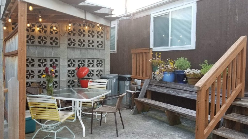BNB patio