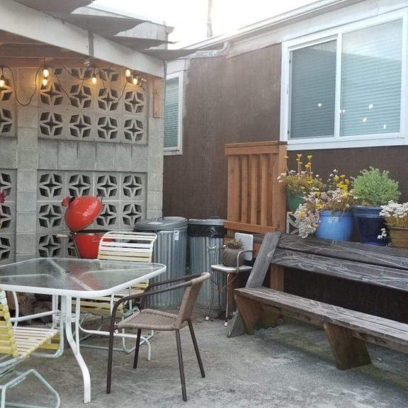 BNB patio